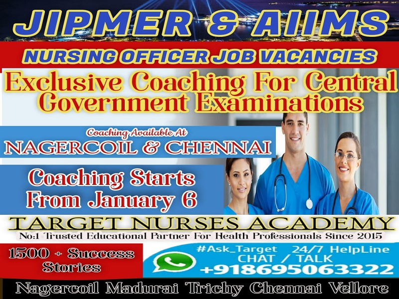 nursing exam coaching in trichy